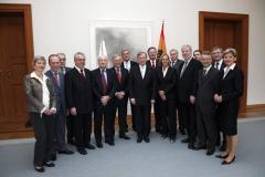 Vorstand Managerkreis der FES bei Bundespräsident Köhler