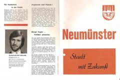 Kommunalwahl 1974 in Neumünster