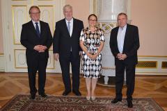 Salzburg 2014 SUI Treffen mit Bürgermeister Schaden