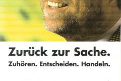 Wahlplakat 1996